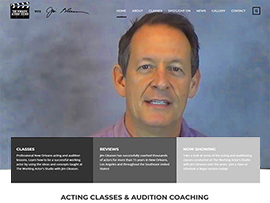 The Working Actors' Studio Website