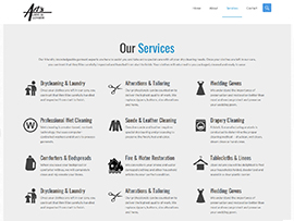Art's Cleaners Website