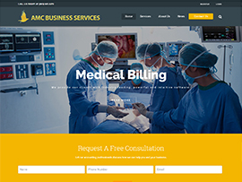 AMC Business Services Website