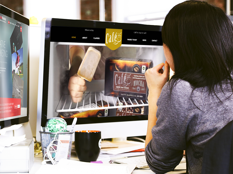 Responsive Website Design For Cafe Bars